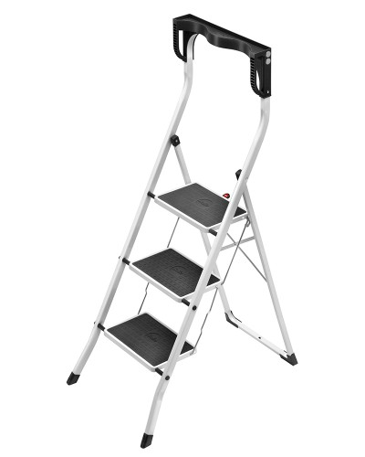pin hailo 4343 001 safety ergoplus swingback stepladder. Black Bedroom Furniture Sets. Home Design Ideas
