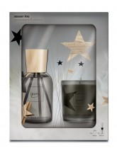 Set stars & wishes 240ml + Kerze