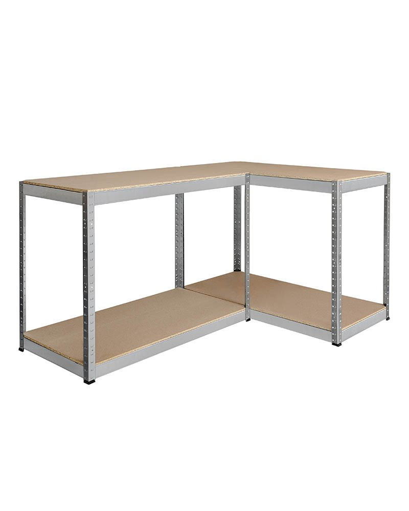 Ritter Products Steckregal, 4 Holzböden 480 Kg bei HOME