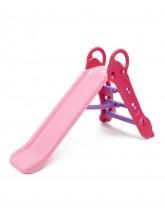 2-Höhen Wasserrutsche pink