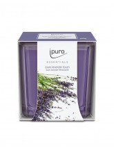 Duftkerze lavender touch