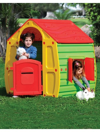 Kunststoff Spielhaus