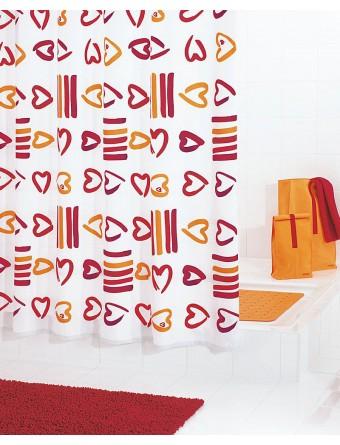 Duschvorhang Textil